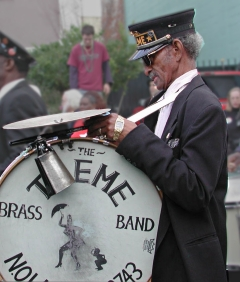 """Uncle"" Lionel Batiste - Treme Brass Band co-founder"