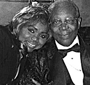 Ruby Wilson with B.B. King